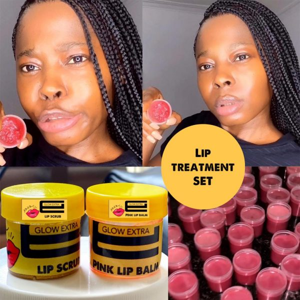 Pink Lip Treatment Set